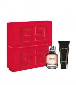 Coffret Donna Givenchy L Interdit Profumo Eau De Parfum EDP 50ML VAPO + B/L 75ML GIOSAL