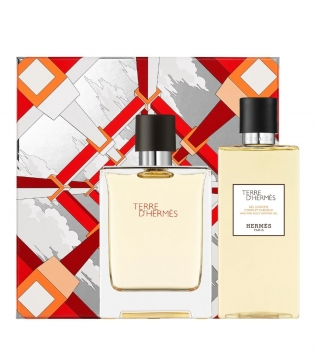 Coffret Uomo Hermes Terre d'Hermes Eau de Toilette 100ml + Shower Gel 80ml GIOSAL