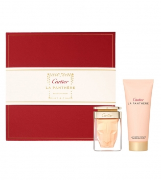 Coffret Donna Cartier La Panthere Eau de Parfum 50 ml + Shower Gel 100ml GIOSAL