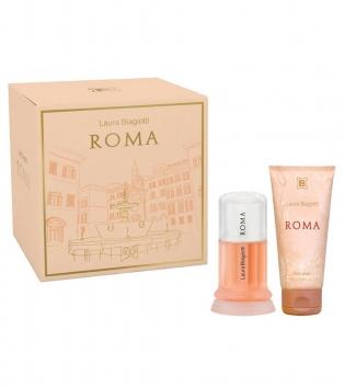 Coffret Donna Laura Biagiotti Roma Eau de Toilette 25ml + Body Lotion 50ml GIOSAL