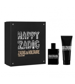 Coffret Uomo ZADIG & VOLTAIRE FOR HIM Profumo EDT 50ML+ S/G 100ML GIOSAL