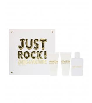 Coffret Donna Zadig & Voltaire Just Rock Profumo EDP Eau de Parfum Body Lotion  Shower Gel GIOSAL