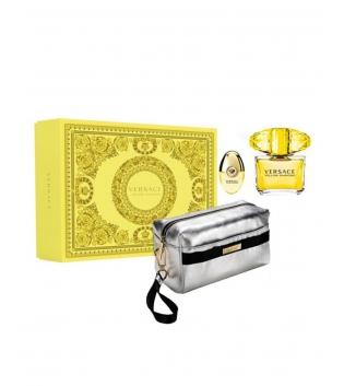 Coffret Donna Cofanetto Versace Yellow Diamond Profumo Eau de Toilette Pochette GIOSAL