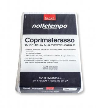 Coprimaterasso Gabel Jersey Multiestensibile Matrimoniale 175x200cm GIOSAL