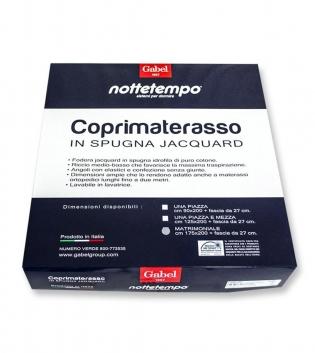 Coprimaterasso Gabel Comfort Spugna Jacquard Singolo 90x200cm GIOSAL