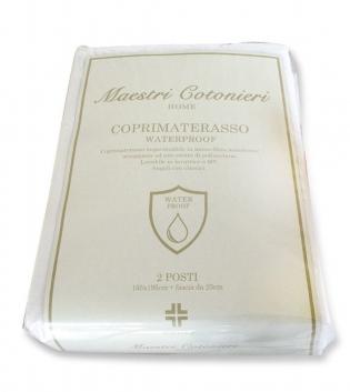 Coprimaterasso Maestri Cotonieri Micro Fibra Impermeabile Antiacaro 1,5 Piazze 130x195cm GIOSAL