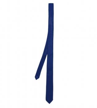 Cravatta Elegante Uomo Tinta Unita Blu GIOSAL