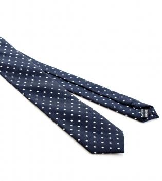 Cravattino Fantasia Pois Blu Cravatta Uomo Sottile Look Elegante Casual GIOSAL