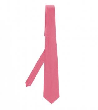 Cravatta Uomo Accessorio Elegante Tinta Unita Rosa Classico Look GIOSAL