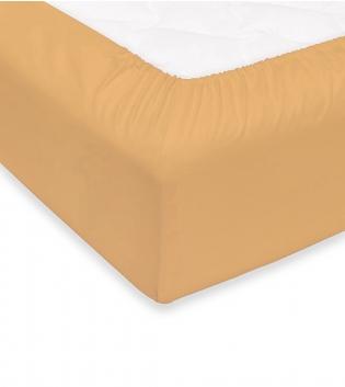 Lenzuolo Sotto Maestri Cotonieri Con Angoli Cotone Matrimoniale Maxi 180x220cm Vari Colori GIOSAL-Crema