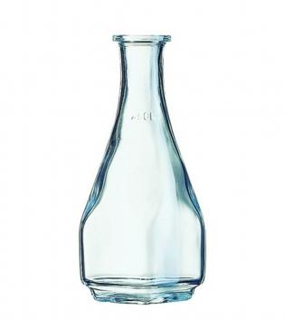 Bottiglia Carre 0,25cl Senza Tappo Vetro Trasparente Caraffa Decanter GIOSAL