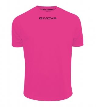 Maglia Calcio Sport GIVOVA One T-Shirt Uomo Donna Bambino Maglietta Abbigliamento Sportivo GIOSAL-Fucsia-S