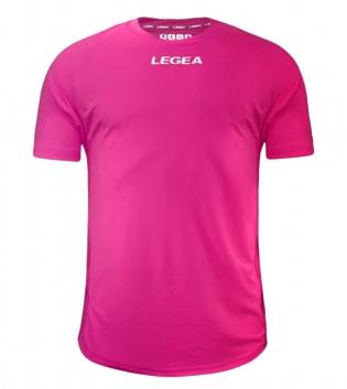 Maglia Calcio Sport LEGEA Crimea Abbigliamento Uomo Bambino Sportivo Calcistico GIOSAL-Fuxia Fluo-3XS