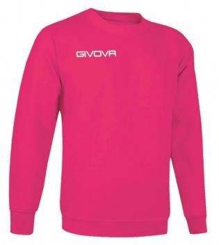 New Maglia Girocollo Givova One Uomo Donna Bambino Sport Relax Unisex GIOSAL-Fucsia-3XS