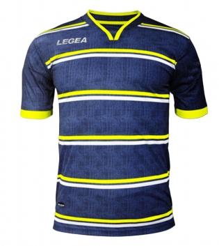 Maglia Calcio Sport LEGEA Beige Jeans Uomo Bambino Abbigliamento Sportivo GIOSAL
