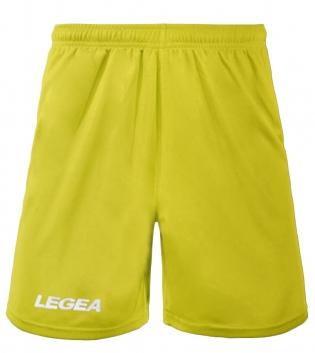 Pantaloncini LEGEA Pant Monaco Bermuda BOX 10 PEZZI Sport Uomo Bambino GIOSAL-Giallo-3XS