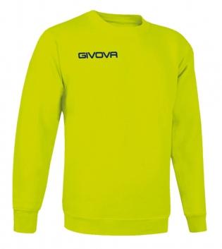 Maglia Girocollo Givova One Sport Uomo Donna Bambino Unisex Comfort Colori GIOSAL-Giallo Fluo-3XS