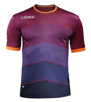 Maglia LEGEA Calcio Sport Assen Abbigliamento Sportivo Calcistico GIOSAL-Granata-Blu-S