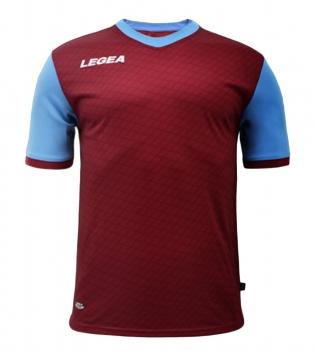 Maglia Calcio Sport LEGEA Narbona Abbigliamento Calcistico Sportivo GIOSAL-Granata-Celeste-S