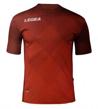 Maglia Uomo Calcio Sport LEGEA Breda Uomo Bambino Abbigliamento Calcistico Sportivo GIOSAL-Granata-Rosso-S