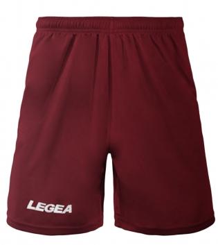 Pantaloncini LEGEA Pant Monaco Bermuda BOX 10 PEZZI Sport Uomo Bambino GIOSAL-Granata-3XS
