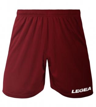 Pantaloncini LEGEA Panta Dusseldorf Bermuda Sport BOX 10 PEZZI Uomo Bambino GIOSAL-Granata-3XS