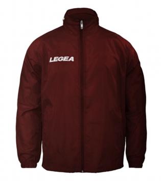 Giubbotto Uomo Jacket Rain LEGEA Italia Abbigliamento Uomo Bambino Sport Relax GIOSAL-Granata-3XS