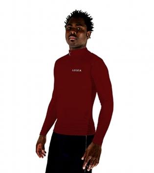 T-Shirt Body 6 Dynamic LEGEA Abbigliamento Uomo Bambino Sportivo Training GIOSAL -Granata-L