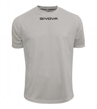 Maglia Calcio Sport GIVOVA One T-Shirt Uomo Donna Bambino Maglietta Abbigliamento Sportivo GIOSAL-Grigio Chiaro-4XS
