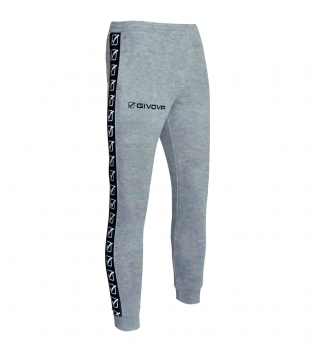 Pantalone Tuta Sport GIVOVA Terry Band Abbigliamento Sportivo Comfort GIOSAL