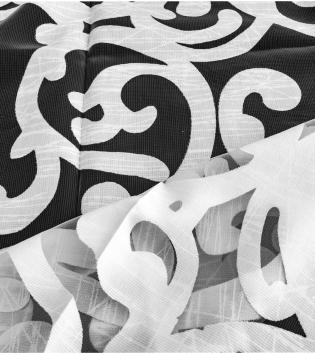 Tessuto Per Tenda Idro Bianco Trasparente Tendaggi Arredo Casa Pannello Telo GIOSAL