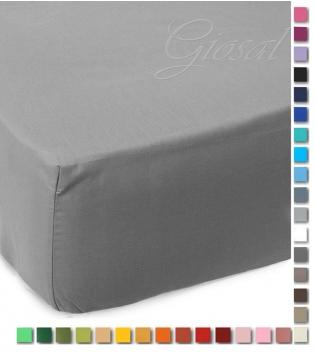 Lenzuolo Sotto Maestri Cotonieri Con Angoli Cotone Matrimoniale Maxi 180x220cm Vari Colori GIOSAL