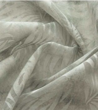 Tessuto Per Tenda Leone Grigio Foglie Palme Tendaggi Arredo Casa Pannello Telo GIOSAL