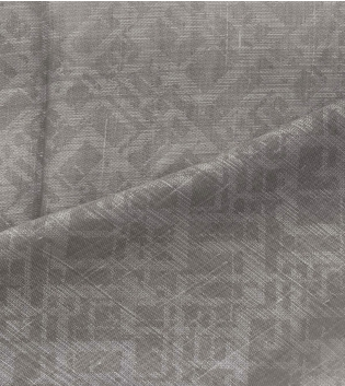 Tessuto Per Tenda Mekong Grigio Tendaggi Arredo Casa Pannello Telo GIOSAL