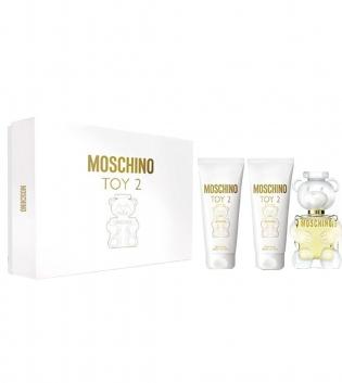 Coffret Moschino Toy2 Profumo EDP 50ML VAPO + B/L 50ML + S/G 50ML Eau De Parfum GIOSAL