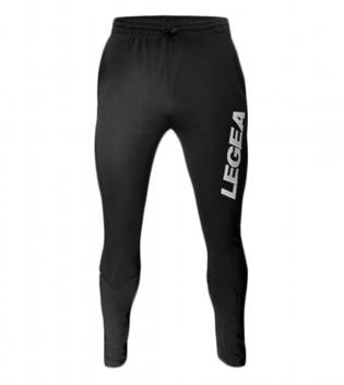 Pantalone Kansas Pockets/No Yuko LEGEA Abbigliamento Sportivo Relax Sport GIOSAL-Nero-Bianco-S