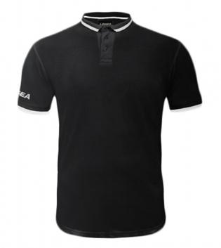 Maglietta Polo Dacca LEGEA Abbigliamento Sportivo Uomo Bambino GIOSAL-Nero-Bianco-S