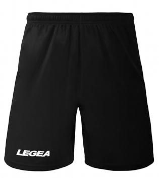 Pantaloncini LEGEA Pant Monaco Bermuda BOX 10 PEZZI Sport Uomo Bambino GIOSAL-Nero-3XS