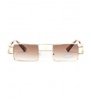 Occhiali da Sole Unisex Lenti Sfumate Sottili Squadrate Uomo Donna Sunglasses GIOSAL