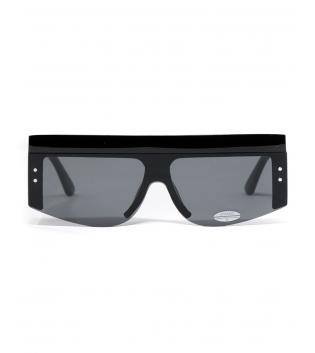 Occhiali da Sole Neri Doppi Sunglasses Casual Unisex Uomo Donna GIOSAL