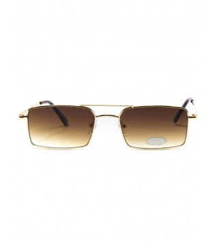 Occhiali da Sole Unisex Sunglasses Lenti Sfumate Squadrate Casual Sottili GIOSAL