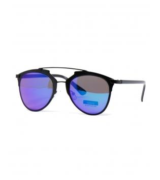 Occhiali da Sole Neri Unisex Lenti Specchio Aviatore Casual Uomo Donna GIOSAL