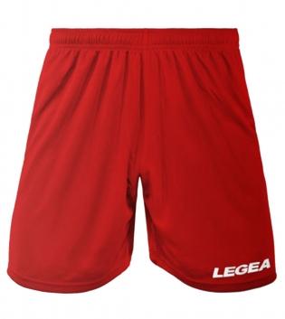 Pantaloncini LEGEA Panta Dusseldorf Bermuda Sport BOX 10 PEZZI Uomo Bambino GIOSAL-Rosso-3XS