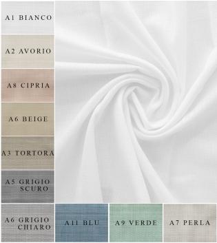 Tessuto Per Tenda Passione Tinta Unita Vari Colori Tendaggi Arredo Casa Pannello Telo GIOSAL