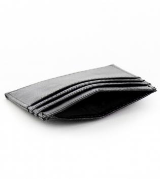 Portafogli Uomo Ecopelle Nero Multi Tasche Portafoglio Porta Carte GIOSAL