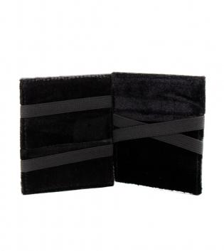 Portafoglio Wallet Flap Boy Slim Portacarte Portafogli Ecopelle Nero Casual GIOSAL