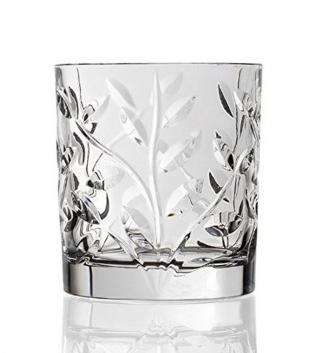 Set Bicchieri Laurus 6 Pezzi Acqua Liquore 6cl 33cl Vetro Cristalleria Italiana RCR GIOSAL