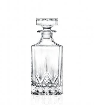 Bottiglia Opera Quadra 75cl Liquore Vetro Cristalleria Italiana RCR Style GIOSAL