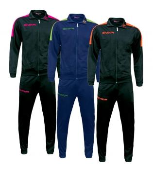 Completo Tuta GIVOVA Revolution Fluo Unisex Uomo Donna Bambino Sport Comfort GIOSAL