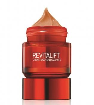 L'Oreal Crema Rossa Rivitalift Energizzante Anti Rughe Rassodante Viso 50ml GIOSAL